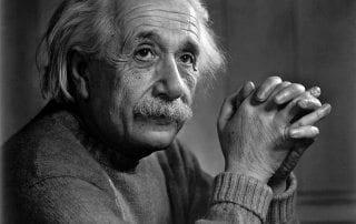 foto van Albert Einstein