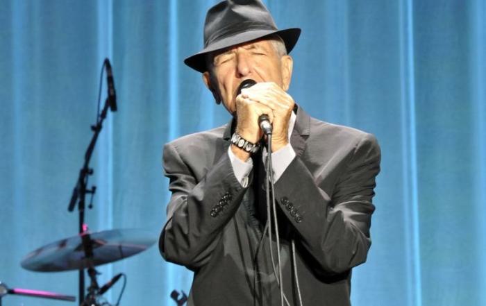 Leonard Cohen rechtenvrije foto