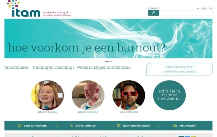 front van website ITAM.be
