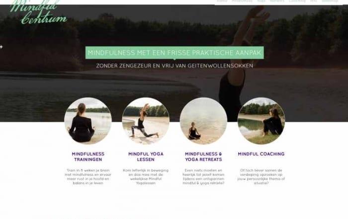 Mindful website van Suzan en mindfulcentrum